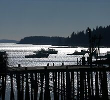 Stonington in Winter by LifeInMaine