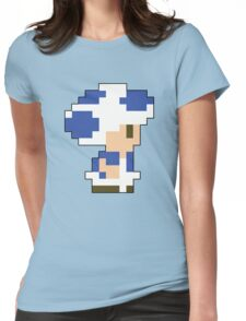 Super Mario 3D World Toad Sprite Womens Fitted T-Shirt