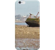 Wreck on the Estuary iPhone Case/Skin