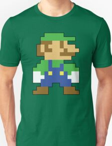 Super Mario 3D World Luigi Sprite Unisex T-Shirt