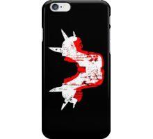 Shoulder Pads of Doom 2000 Design (Black) iPhone Case/Skin