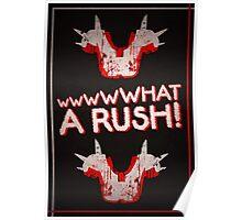 Shoulder Pads of Doom 2000 Design (Black) Poster