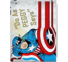 do as peggy says iPad Case/Skin