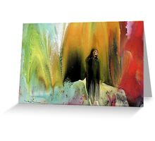 Widow In The Wilderness Greeting Card