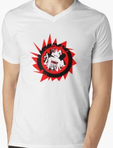 robot Mens V-Neck T-Shirt