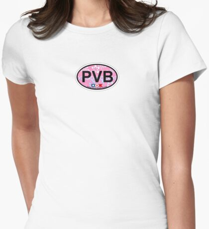 Ponte Vedra Beach - Florida. Womens Fitted T-Shirt