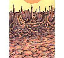 Scorched Lands Photographic Print