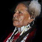Tribal  Elder  by Heather Friedman