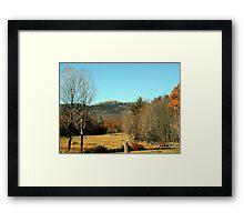 Mount Monadnock - Jaffrey, NH Framed Print