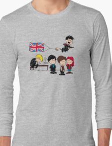 Brit Peanuts Long Sleeve T-Shirt