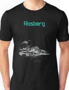 Nico Rosberg 2015 Mercedes F1 Unisex T-Shirt