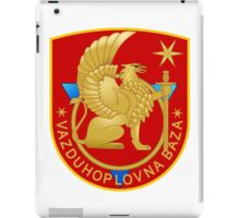 Montenegrin Air Force Cot of Arms iPad Case/Skin