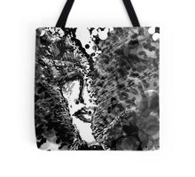 My mad man - Black and white Tote Bag