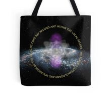 Galactic Core Consciousness Tote Bag