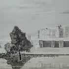 """""""Alnwick Castle"""" by Alan Harris"""