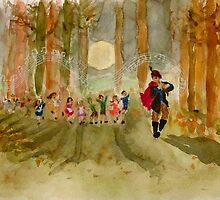 The Pied Piper by Jen Hallbrown
