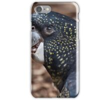 Red-Tailed Black Cockatoo iPhone Case/Skin