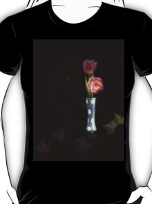 Flowers in Blue Vase T-Shirt
