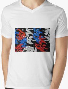 Patriotic Carrots Mens V-Neck T-Shirt