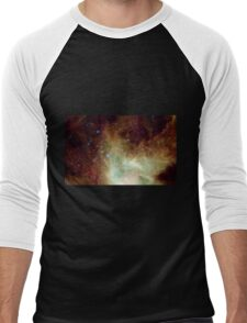 Dark Cone Nebula Men's Baseball ¾ T-Shirt