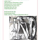 The escapologist is in love - christmas Card by mago