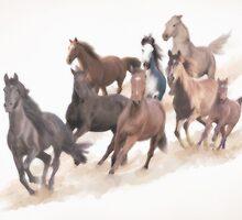 8 Horses by SheriChen