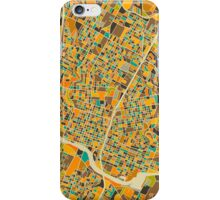 AUSTIN, TEXAS MAP iPhone Case/Skin