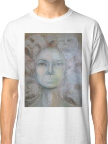Faces - Portrait In Black And White Classic T-Shirt