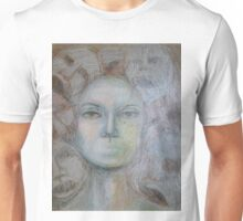 Faces - Portrait In Black And White Unisex T-Shirt