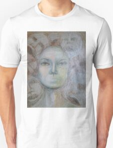 Faces - Portrait In Black And White T-Shirt