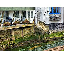 Expecting a High Tide Photographic Print