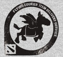Flying Courier Delivery Service Dota 2 by wowzuki