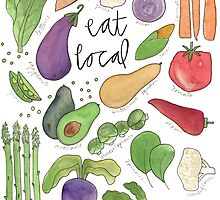 Eat More Veggies by Bumble & Bristle