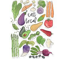 Eat More Veggies Photographic Print