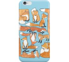 Foxes Collage iPhone Case/Skin