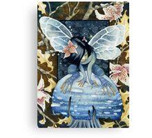 Blue Faery Canvas Print