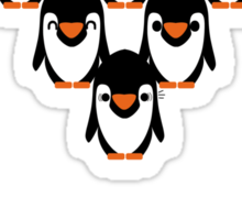 Penguin Fun Sticker