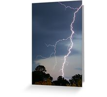 Daytime Lightning Greeting Card