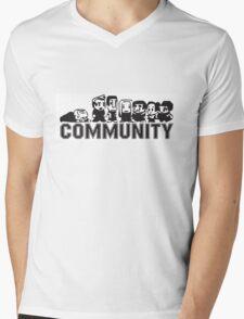 8 Bit Community Mens V-Neck T-Shirt