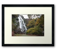Powerscourt waterfall Framed Print