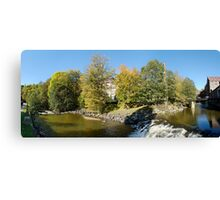 Akerselva Panorama  Canvas Print