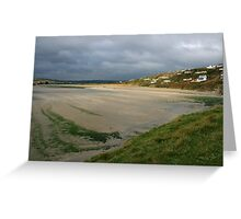 Inchydoney beach Greeting Card