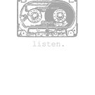 Listen to Cassettes - grey edition by Jeff Newell