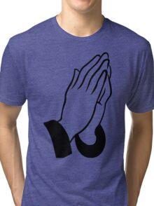 DEAN BLUNT - THE REDEEMER (transparent) Tri-blend T-Shirt