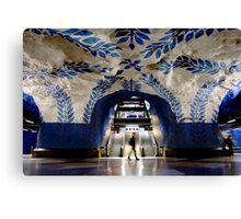 Underground Art Canvas Print