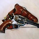 Colt 45 single action peacemaker by Hidemi Tada
