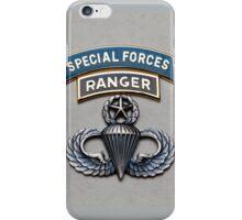 SF Ranger Airborne Master iPhone Case/Skin