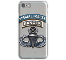 SF Ranger Airborne Master iPhone Case/Skin