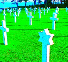 Normandy War Graves by toryworgan