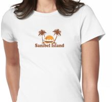 Sanibel Island - Florida. Womens Fitted T-Shirt